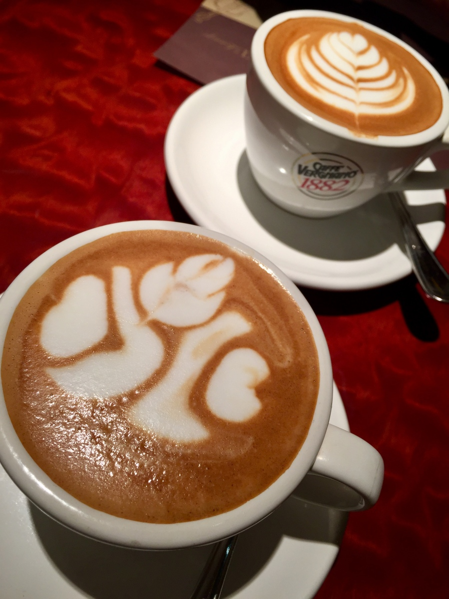 Hey Hey Cappuccino Lover!